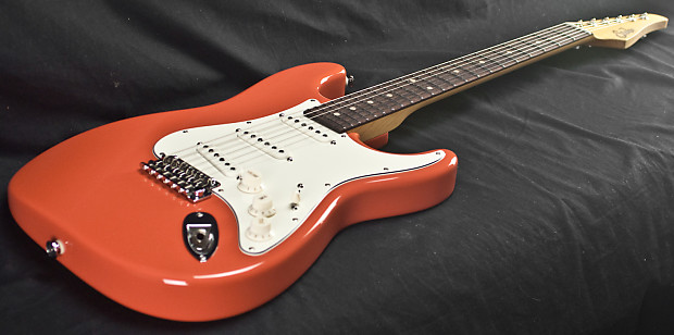 Suhr Classic Pro Fiesta Red Irw Sss Electric Guitar Reverb