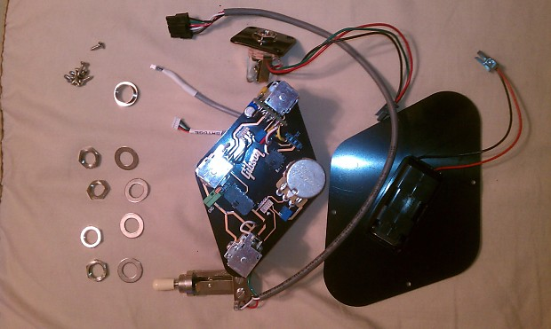 Gibson Les Paul Wiring Harness True Coil Split With 15dB Boost Quick on