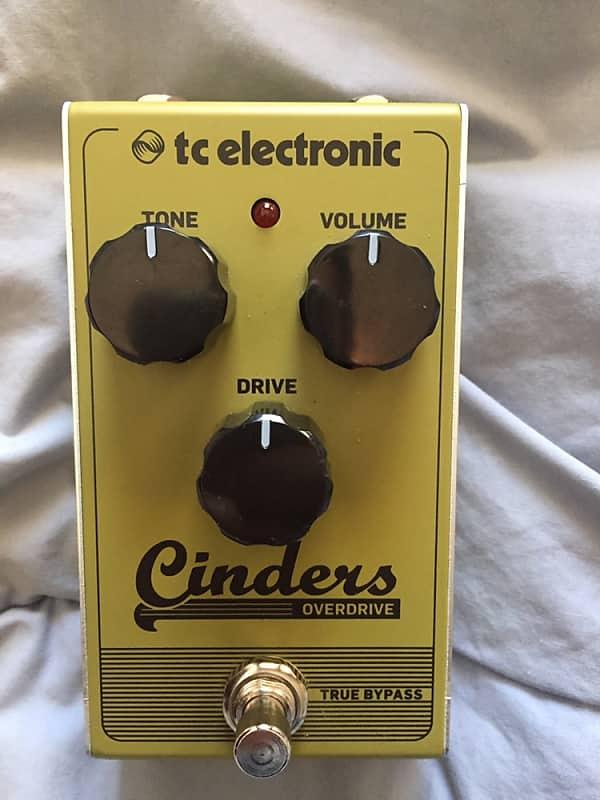 tc electronic cinders analog overdrive pedal gear outlet reverb. Black Bedroom Furniture Sets. Home Design Ideas