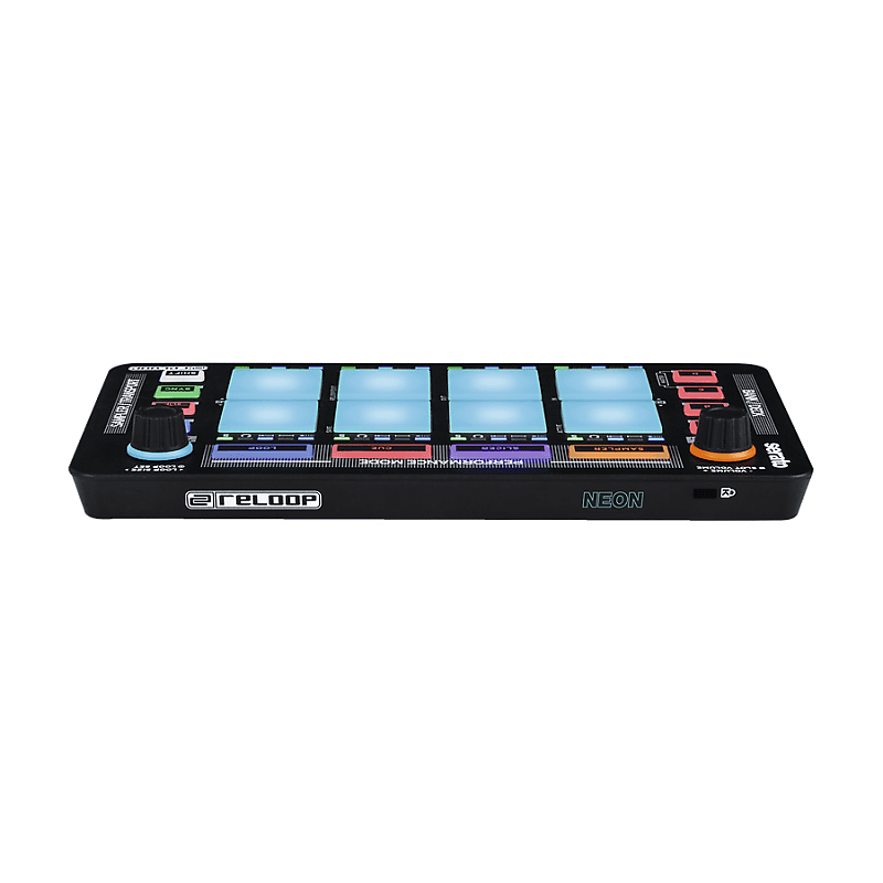 Reloop Neon Usb Modular Pad Controller For Serato Dj Reverb