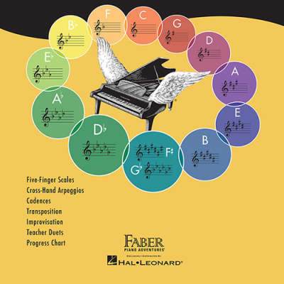 Faber & Faber Piano Adventures Scale and Chord Book 1