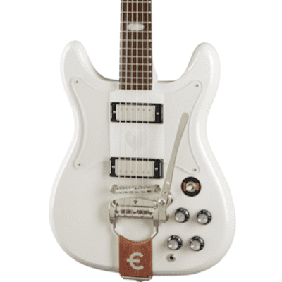 Epiphone Crestwood Custom in Polaris White for sale