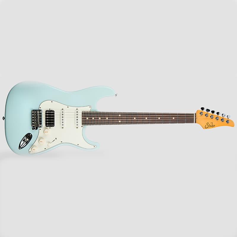 Suhr Classic S Antique Hss Guitar Sonic Blue Light Relic