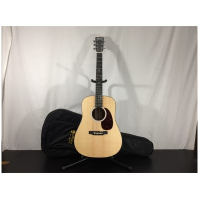 Martin D Jr-10E-02 Acoustic/Electric Guitar, Sitka Spruce Top Satin w/ Gig Bag - Customer Return