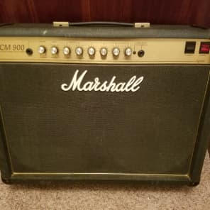 Marshall JCM 900 Model 2502 50-Watt Hi Gain Master Volume MkIII 2x12 Combo