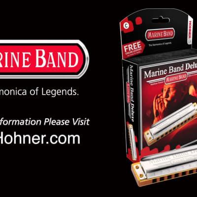 Hohner - Marine Band Deluxe B