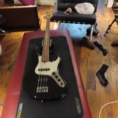 Fender American Deluxe Jazz Bass 1999 Black for sale
