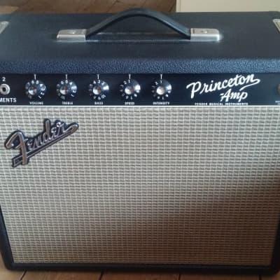 Fender Princeton 1966 Black Vintage Amp for sale