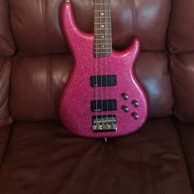 Daisy Rock Rock Candy Bass Atomic Pink for sale