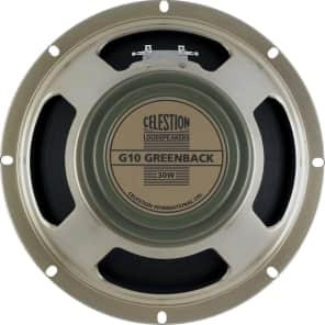 """Celestion T5646 G10 Greenback 10"""" 30-Watt 8 Ohm Replacement Speaker"""