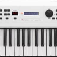 Yamaha MX49 49 Key Music Production Keyboard Synthesizer/Controller, White