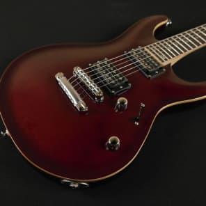 FGN Expert Elan EEL-FM Stoptail Bolt-on - Trans Red - Made in Japan Great Flame for sale