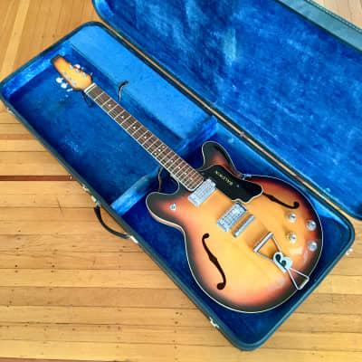 Baldwin burns 706 electric guitar c 1960s Sunburst original vintage uk england for sale