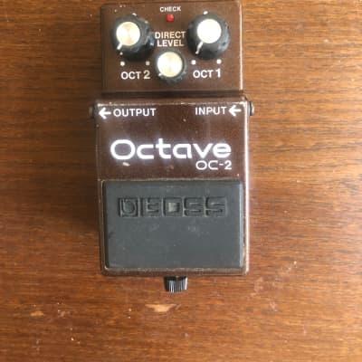 Boss OC-2 Octave Pedal 1984 - 1997