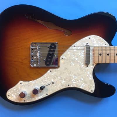 Fender '69 Telecaster Thinline  2010 Sunburst for sale