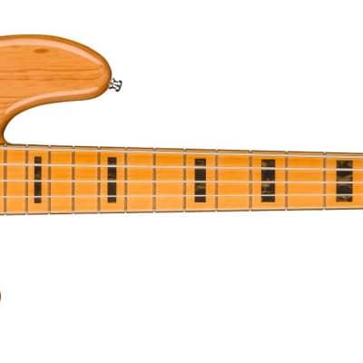 Fender American Ultra Jazz Bass V Maple Fingerboard Aged Natural