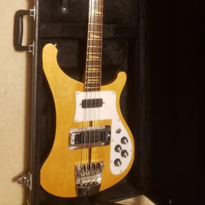 UNIVOX U1975B 4001 Stereo Bass 1975 Maple Glo with Bartolini Pickups & Case for sale