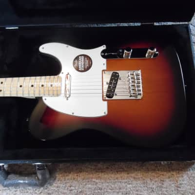 Mint 2015 American Standard  Tobacco Sunburst Telecaster for sale