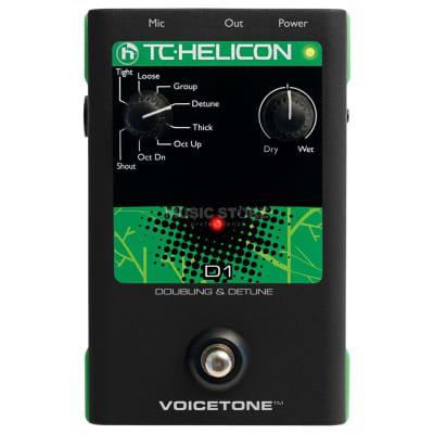 TC Helicon VoiceTone D1 Doubling & Detune Vocal Effect Pedal