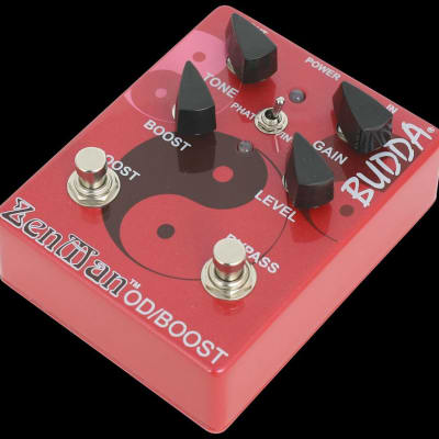 Budda Boutique Effects Pedals Zenman Overdrive/Boost Guitar Pedal