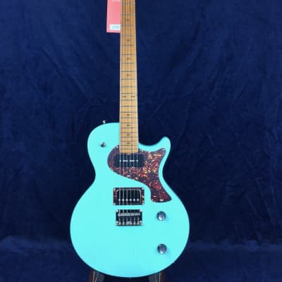 PJD Guitars Carey Standard in Surf Green with Bareknuckle Pickups for sale