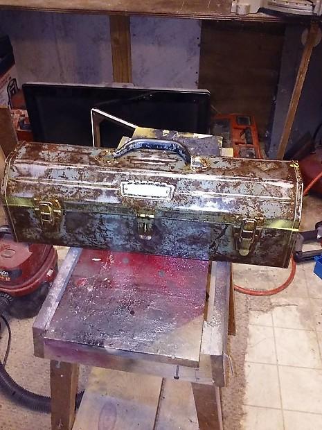 1950s craftsman tool box amp | woodstove amp works