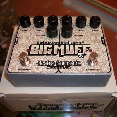 2019 Electro-Harmonix Germanium Big Muff Chrome and White