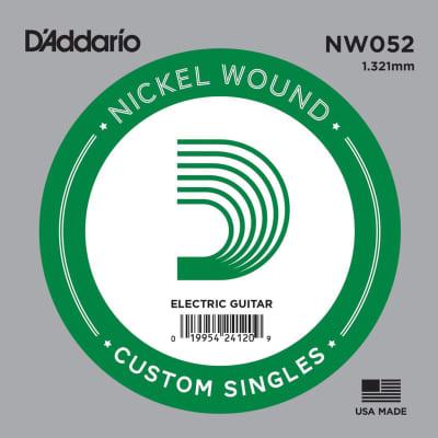 D'Addario NW052 Single XL Nickel Wound 052