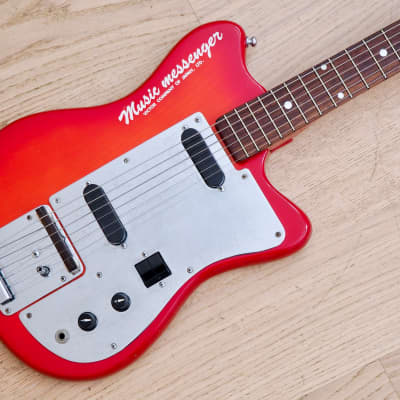 1960s RCA Victor Music Messenger Vintage Electric Guitar Japan, Matsumoku for sale
