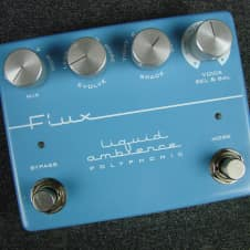 Flux Liquid Ambience Reverb Guitar Effects Pedal Made In New Zealand