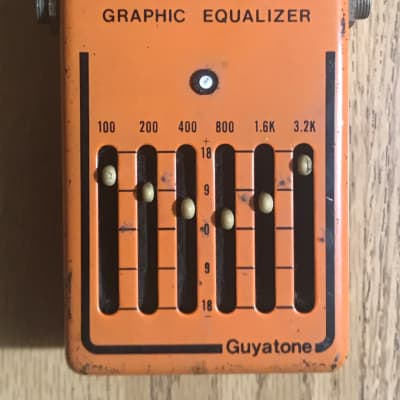 Guyatone EQ700 Graphic Equalizer Box Late 70's Orange for sale