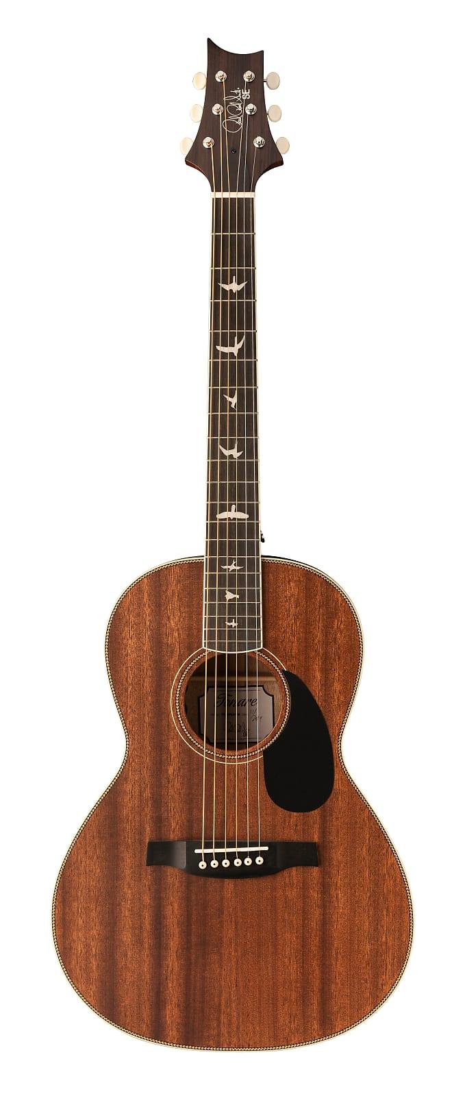 Paul Reed Smith PRS SE P20E Tonare Parlor Acoustic Electric Guitar Vintage Maho