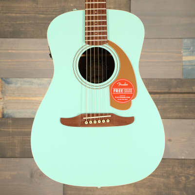 Fender Malibu Player Aqua Splash Walnut Fingerboard S/N 1822597 for sale