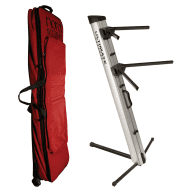 Nord GB76 Soft Travel Case for Stage EX 76-Key w/ Ultimate Support AX-48 Pro Keyboard 2-Tier Stand