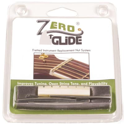 Zero Glide ZS5 Slotted Acoustic Guitar Replacement Nut