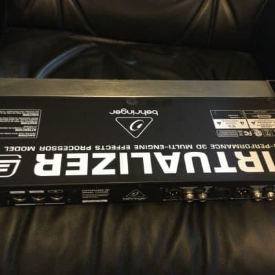 Behringer Virtualizer 3D FX2000 Multi-Engine FX Processor