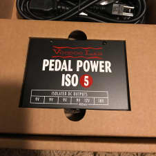 Voodoo Lab ISO 5 power supply mint in box