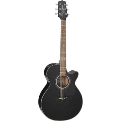 Takamine GF30CE BLK FXC Grand Concert Acoustic Electric, Black for sale