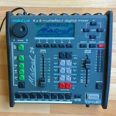 Soundcraft Spirit Folio SX 20-channel mixer (1996)   Reverb
