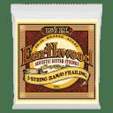 Ernie Ball 2061 Earthwood 80/20 Bronze 5-String Banjo Frailing Strings (10-24w)