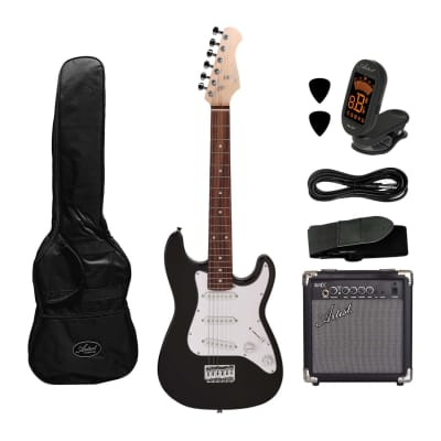 Artist MiniS 3/4 Size Electric Guitar + Accessories +10 Watt Amp for sale