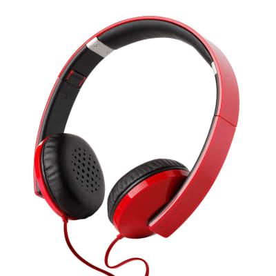 Edifier H750 Hi-Fi On-ear Headphones - Compact Foldable Stereo Headphone - Glossy Red