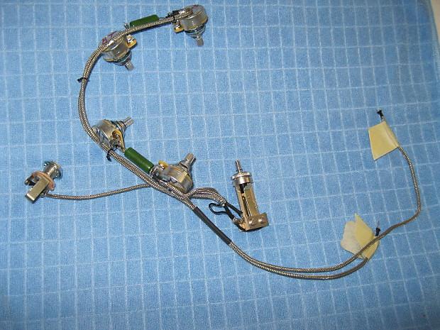 dr vintage es 335 345 355 wiring harness reverb. Black Bedroom Furniture Sets. Home Design Ideas