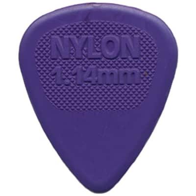 Dunlop 443R114 Nylon MIDI 1.14mm Guitar Picks (72-Pack)