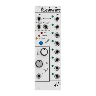 ALM/Busy Circuits Boss Bow Two Silver