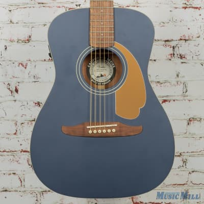 Fender Malibu Player Acoustic Guitar Midnight Satin (USED) for sale