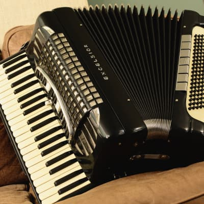 Excelsior Symphony Grand accordion, golden age