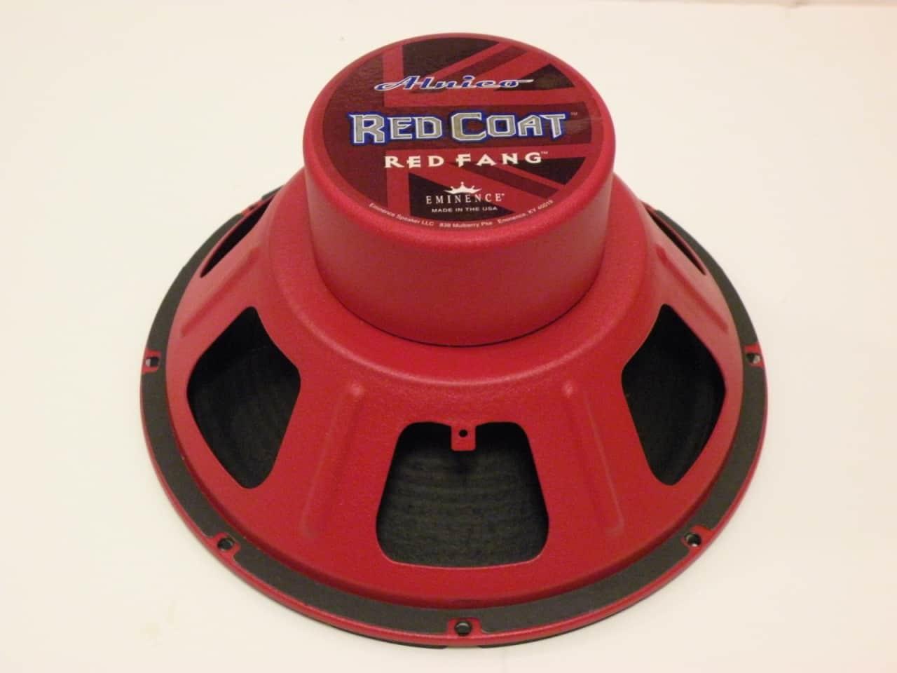 eminence red fang redcoat series 8 ohm 12 alnico blue reverb. Black Bedroom Furniture Sets. Home Design Ideas