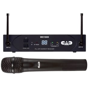 CAD StagePass WX1600 Wireless Handheld Microphone - F Band (638-662 MHz)