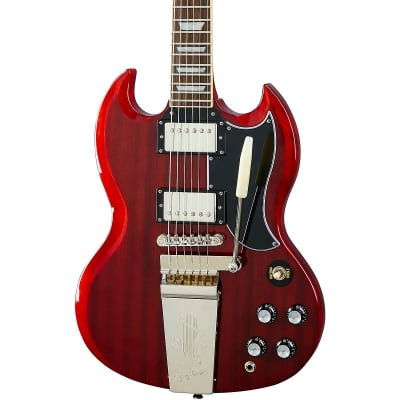 Epiphone SG Standard '61 Maestro Vibrola Electric Guitar Vintage Cherry